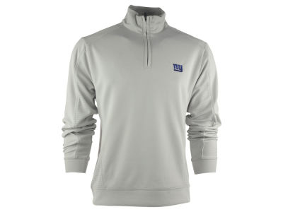 New York Giants NFL CB DryTec Edge Half Zip Jacket