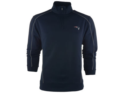New England Patriots NFL CB DryTec Edge Half Zip Jacket