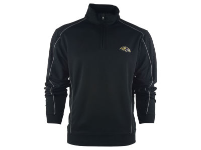 Baltimore Ravens NFL CB DryTec Edge Half Zip Jacket