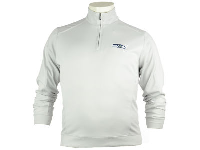 Seattle Seahawks NFL CB DryTec Edge Half Zip Jacket