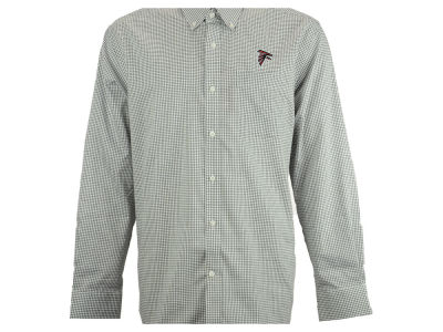 Atlanta Falcons NFL Men's Epic Easy Care Tattersall Button Up Shirt