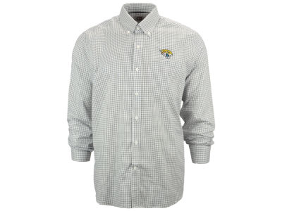 Jacksonville Jaguars NFL Men's Epic Easy Care Tattersall Button Up Shirt