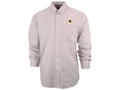 Washington Redskins NFL Men's Epic Easy Care Tattersall Button Up Shirt