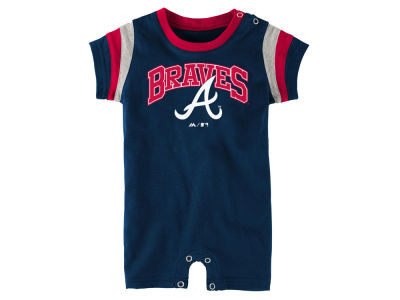 Atlanta Braves MLB Infant Batter Romper