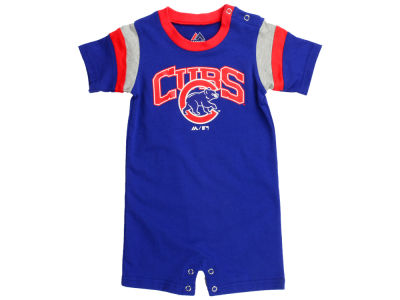 Chicago Cubs MLB Infant Batter Romper