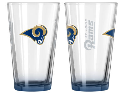 St. Louis Rams 2-pack Elite Glass Pint Set