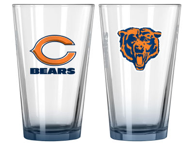 Chicago Bears 2-pack Elite Glass Pint Set