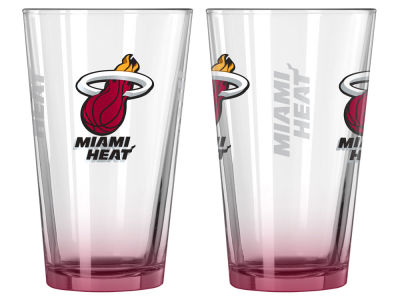 Miami Heat 2-pack Elite Glass Pint Set