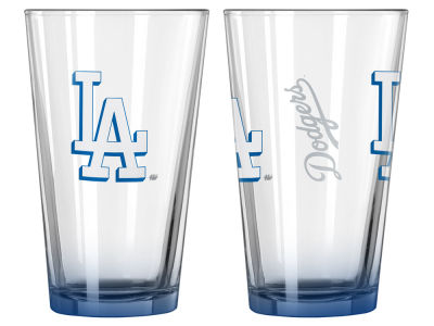 Los Angeles Dodgers 2-pack Elite Glass Pint Set