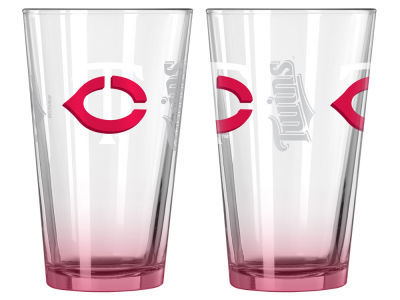 Minnesota Twins 2-pack Elite Glass Pint Set