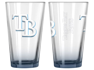 Tampa Bay Rays 2-pack Elite Glass Pint Set