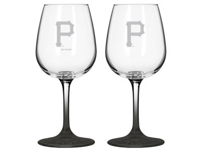 Pittsburgh Pirates 2-pack Elite Wine Glass Set