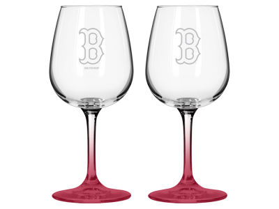 Boston Red Sox 2-pack Elite Wine Glass Set