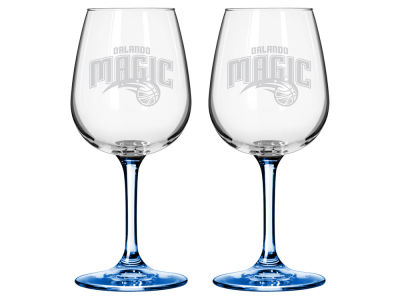 Orlando Magic 2-pack Elite Wine Glass Set