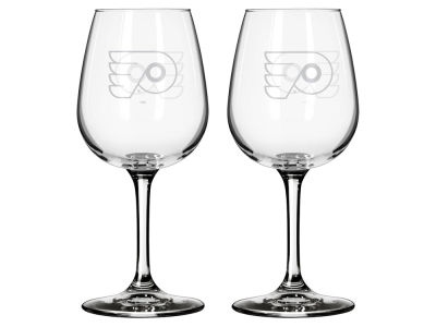 Philadelphia Flyers 2-pack Elite Wine Glass Set