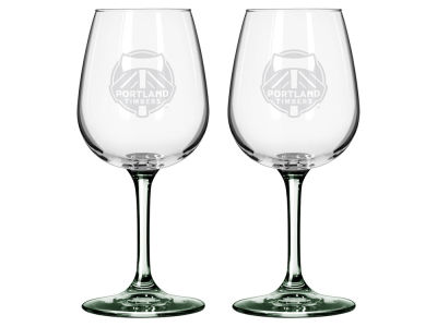Portland Timbers 2-pack Elite Wine Glass Set