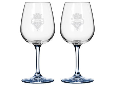 Seattle Sounders FC 2-pack Elite Wine Glass Set