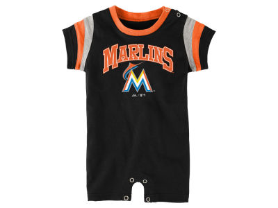 Miami Marlins MLB Infant Batter Romper