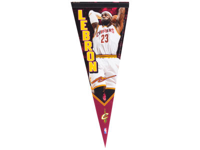 Cleveland Cavaliers LeBron James 12x30 Premium Player Pennant