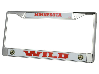 Minnesota Wild Chrome Frame