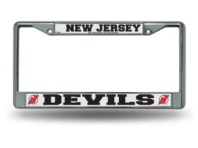 New Jersey Devils Chrome Frame