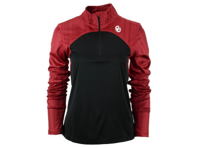 Oklahoma Sooners NCAA Women's Wave 1/4 Zip Pullover Shirt