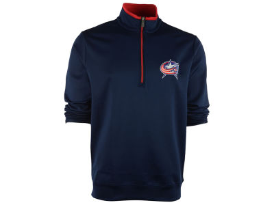 Columbus Blue Jackets NHL Leader Quarter Zip Pullover