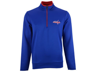 Washington Capitals NHL Leader Quarter Zip Pullover