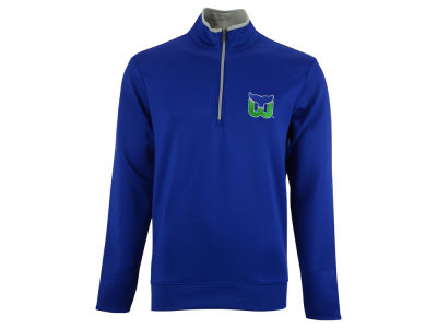 Hartford Whalers NHL Leader Quarter Zip Pullover