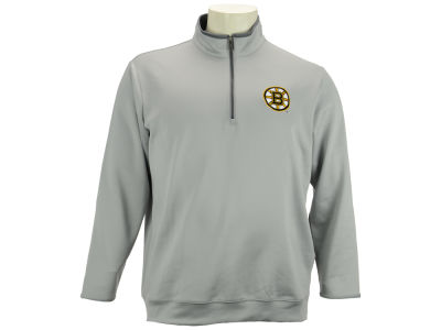 Boston Bruins NHL Leader Quarter Zip Pullover