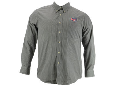 Columbus Blue Jackets NHL Focus Long Sleeve Woven Shirt