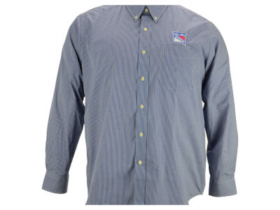 New York Rangers NHL Focus Long Sleeve Woven Shirt