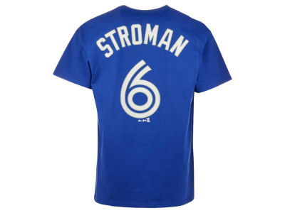 Toronto Blue Jays Marcus Stroman Majestic MLB Men's Official Player T-Shirt