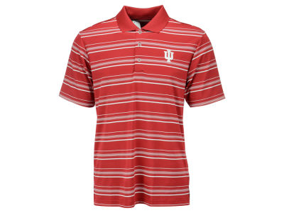 Indiana Hoosiers adidas NCAA Puremotion Textured Stripe Polo