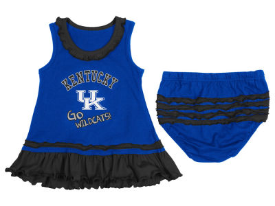 Kentucky Wildcats NCAA Infant Coda Ruffle Tank Dress