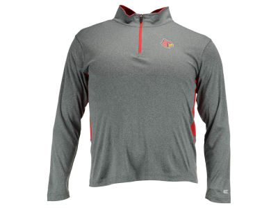 Louisville Cardinals NCAA Men's Hardy 1/4 Zip Pullover Shirt