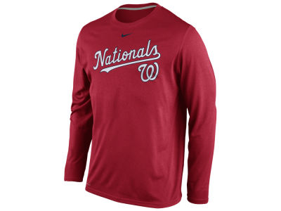 Washington Nationals Nike MLB Men's Legend Long Sleeve T-Shirt