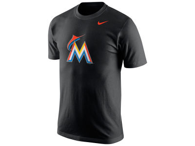 Miami Marlins Nike MLB Men's Logo T-Shirt