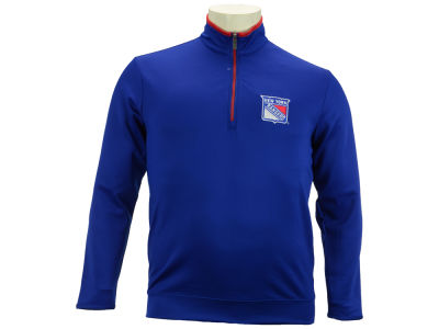 New York Rangers NHL Leader Quarter Zip Pullover