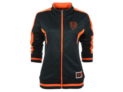 San Francisco Giants MLB Women's Safe Slide Track Jacket