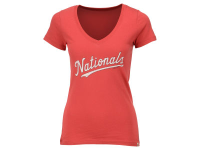 Washington Nationals '47 MLB Women's Flanker MVP T-Shirt