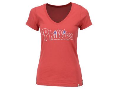 Philadelphia Phillies '47 MLB Women's Flanker MVP T-Shirt