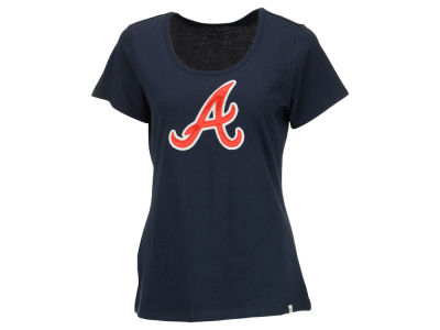 Atlanta Braves '47 MLB Women's Relaxed Knockout T-Shirt