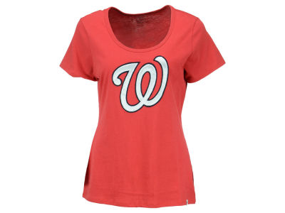 Washington Nationals '47 MLB Women's Relaxed Knockout T-Shirt