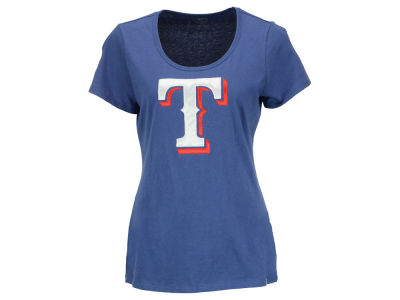 Texas Rangers '47 MLB Women's Relaxed Knockout T-Shirt