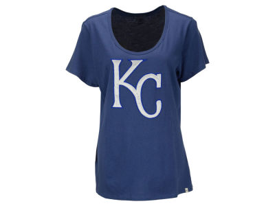 Kansas City Royals '47 MLB Women's Relaxed Knockout T-Shirt