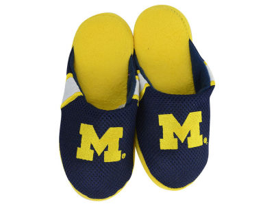 Michigan Wolverines Youth Jersey Slippers