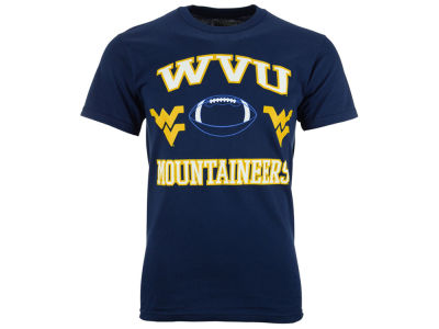 West Virginia Mountaineers NCAA 2 for $25  NCAA Men's Heart & Soul Football T-Shirt