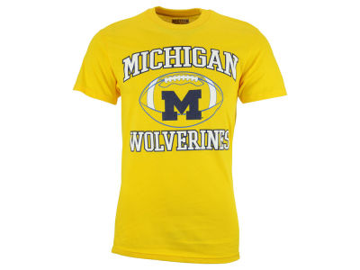 Michigan Wolverines NCAA 2 for $25  NCAA Men's Heart & Soul Football T-Shirt