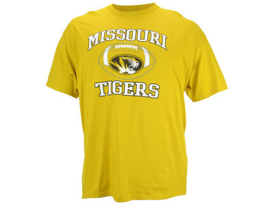 Missouri Tigers NCAA Men's Heart & Soul Football T-Shirt